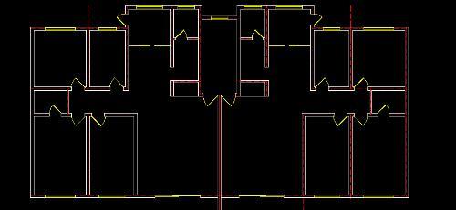 肯定接触房建的平面图比较多,两种方法,这两种方法的前提,你的